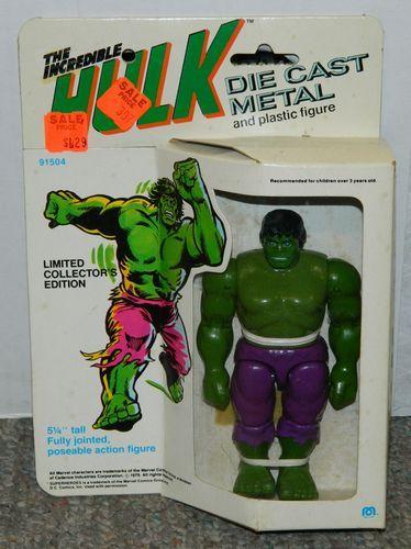 Vintage 1979 Mego DIE Cast Metal Incredible Hulk Action Figure NIB | eBay