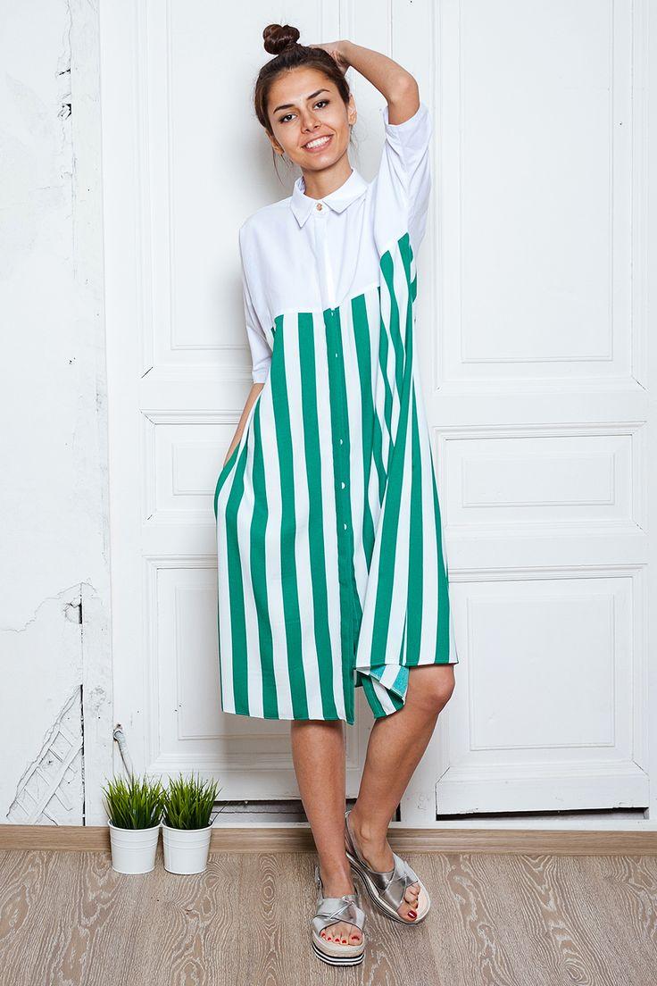 Платье рубашка купить за 8500 руб в интернет-магазине illbb.ru