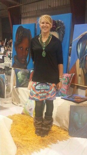Anelia art with anelia-art native skirt