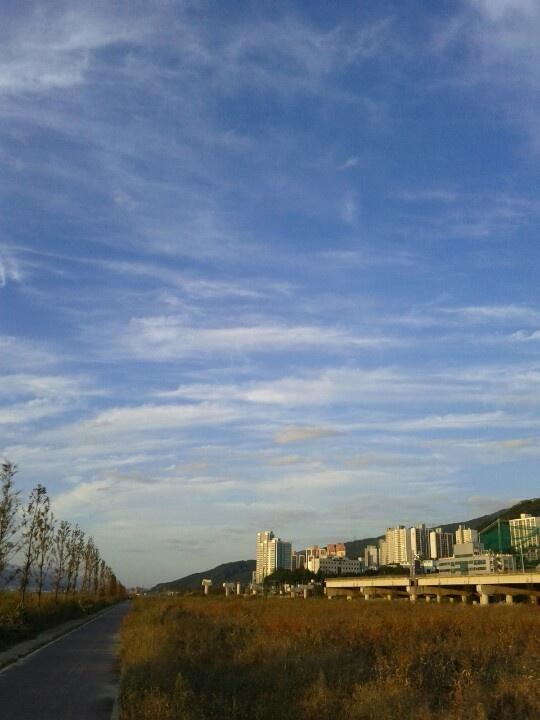 2012-09-29, 금정역 근처 낙동강변 자전거길