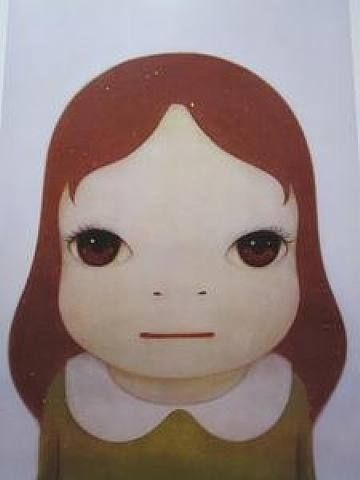Yoshitomo Nara - Cosmic Girl - Eyes Wide Open