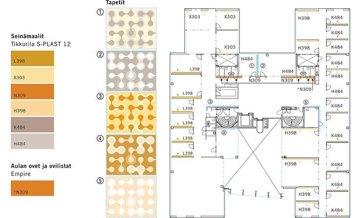 Hahmo | Graphic Design | eCraft | a floor plan
