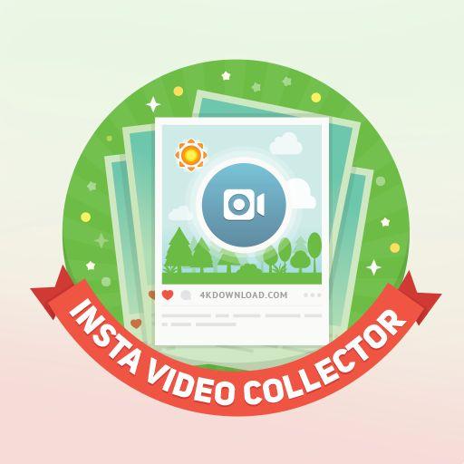 Desbloqueei a conquista Insta Video Collector no 4K Stogram. Fantástico aplicativo para baixar fotos do Instagram.
