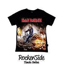 Camiseta Iron Maiden talla 2. $15.000 Adquierela en www.rockerside.com Envíos a todo Colombia, aceptamos todos los medios de pago