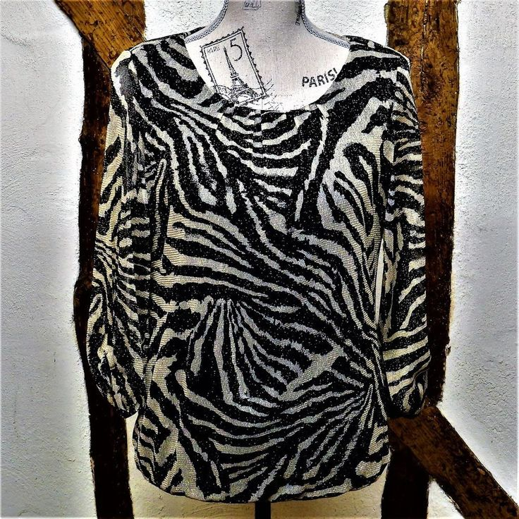 WOMENS LADIES WALLIS PETITE SMALL BLACK GOLD ZEBRA PRINT BLOUSE TUNIC PARTY  | eBay