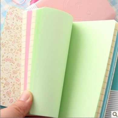 2365 cute smile smile diary leather leather Notepad Notepad mixed hair