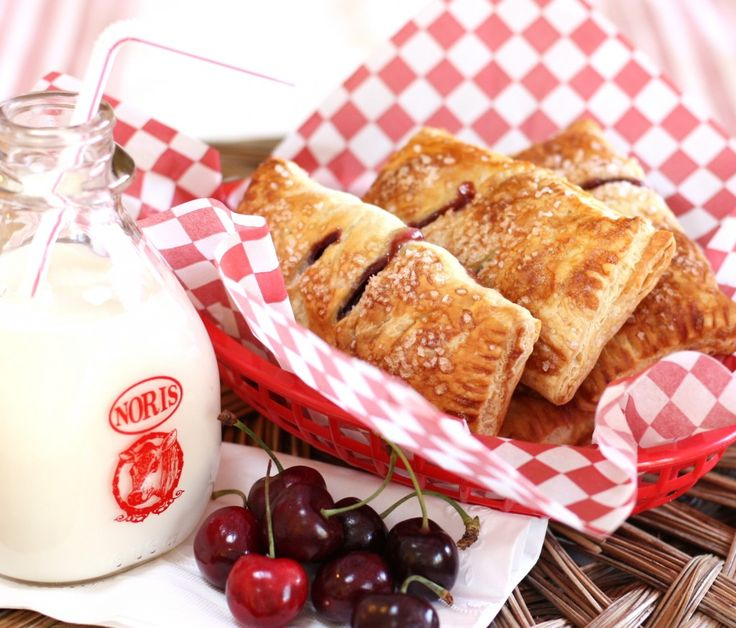 Sweet Cherry Hand Pies for Pie Day | Wives with Knives
