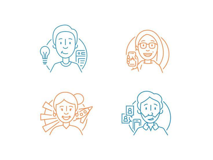 Developer Icons by Grant Burke