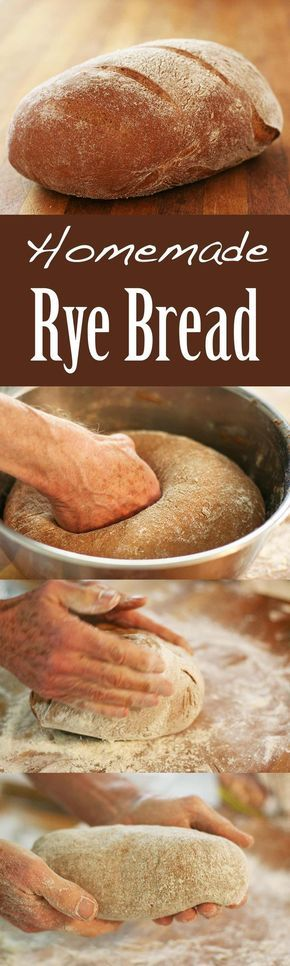 Learn how to make your own homemade rye bread, it's easy! Soft inside, crusty crust, with or without caraway seeds.