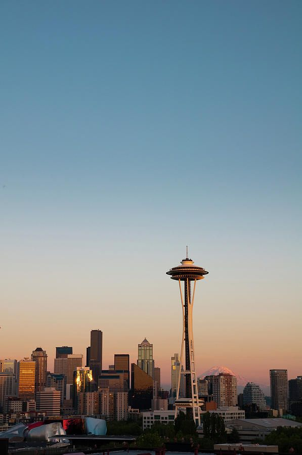 Seattle Skyline Photograph by Anthony Dell'Ario - Seattle Skyline Fine Art Prints and Posters for Sale