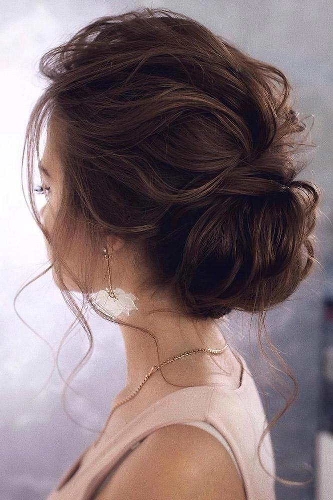 20 Ideas How To Spice Up Your Half Bun In 2020 Messy Wedding Hair Wedding Hair Inspiration Loose Wedding Hair