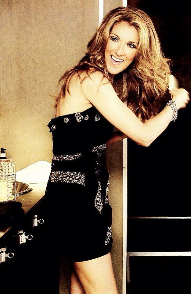 Celine Dion, love her style, her personality, her voice. And she loves shoes like I do.