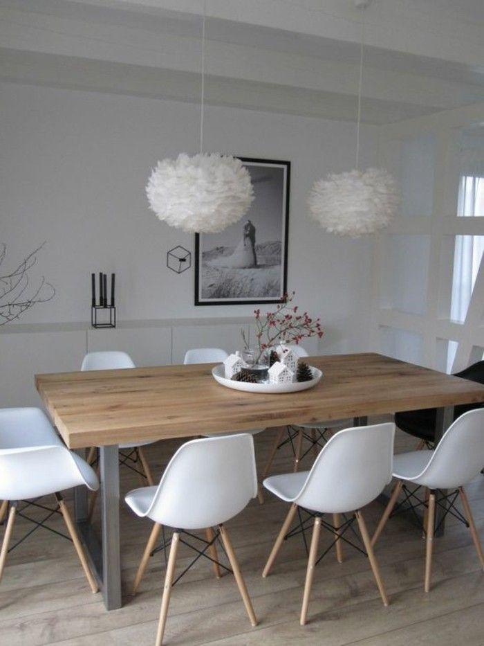Esstisch Deko Tablett Mit Vielen Kleinen Deko Elementen Idee Zum Einrichten In Der Kuche Oder Scandinavian Dining Room Modern Dining Room Dining Room Design