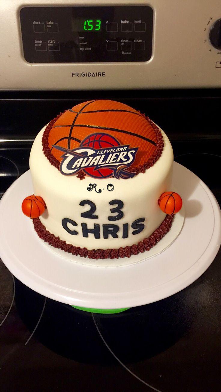 Bizcocho de los cleveland cavaliers   Mis Cake   Birthday ...