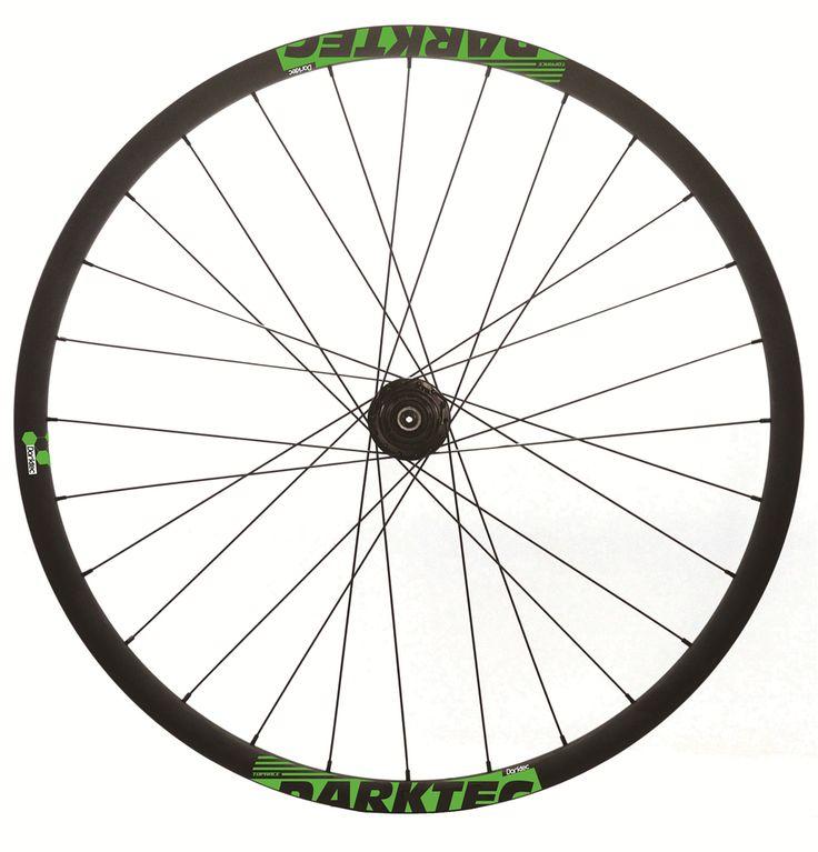 Darktec 29er mountain Bike 30mm wide beadless Asymmetry carbon wheelset - $460