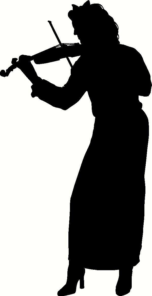 violin-player-silhouette.JPG | Project 3 | Pinterest