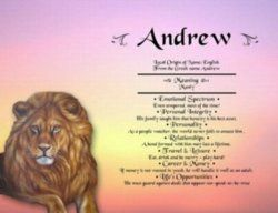 Andrew Name Meaning