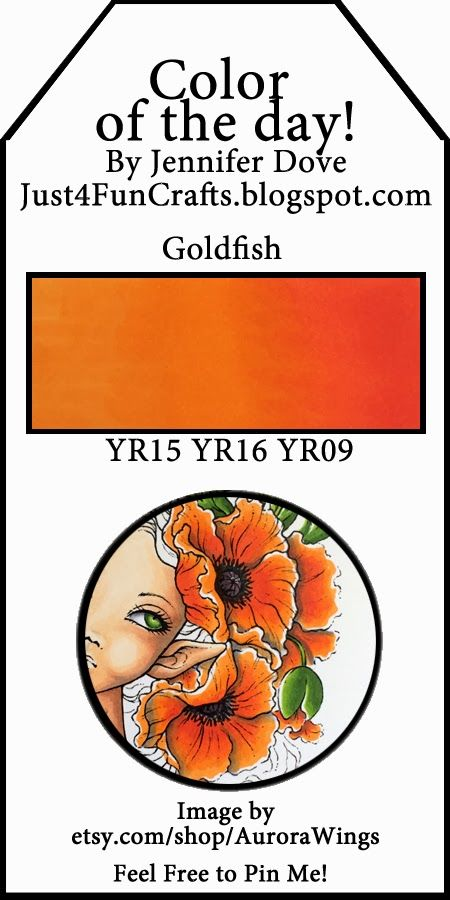Color of the Day -163- Goldfish