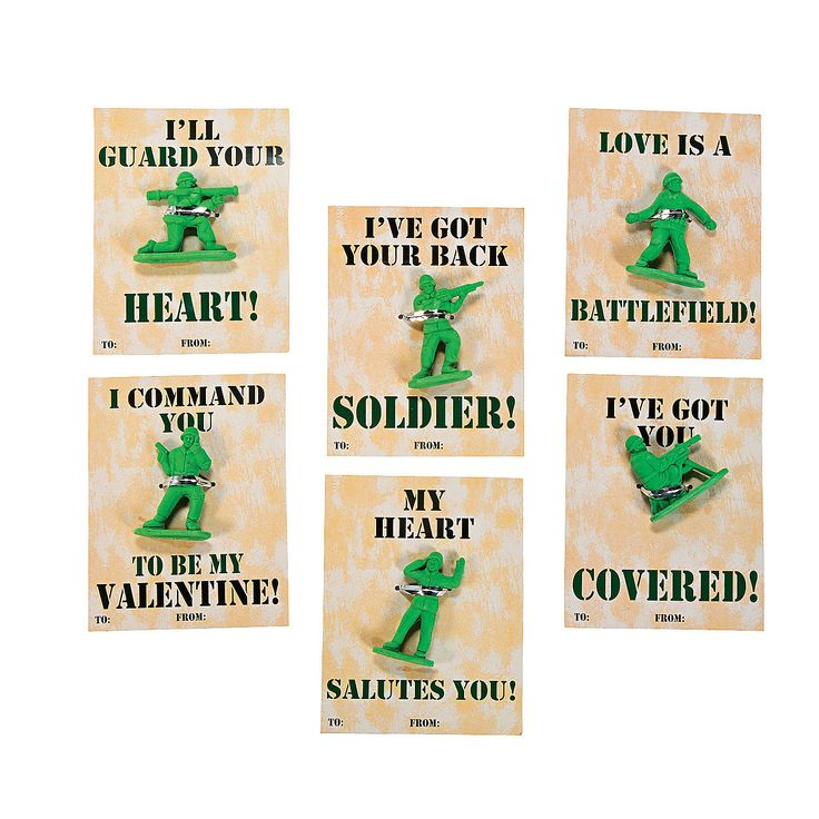 army tank valentine's day box