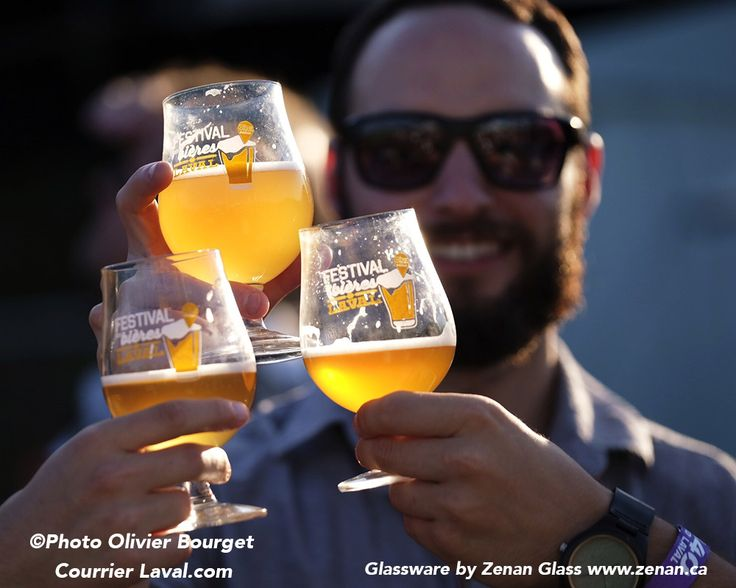 Festival des bières de Laval 2017  Zenan Glass supplied glasses for the Beer Festival in Laval Quebec last weekend with over 30,000 in attendance! Article here: http://www.courrierlaval.com/actualites/2017/7/17/30-000-festivaliers-recenses.html  www.zenan.ca