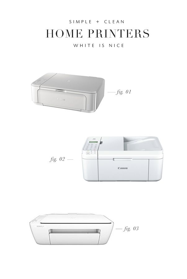 If you are looking for a white printer we have some suggestions!