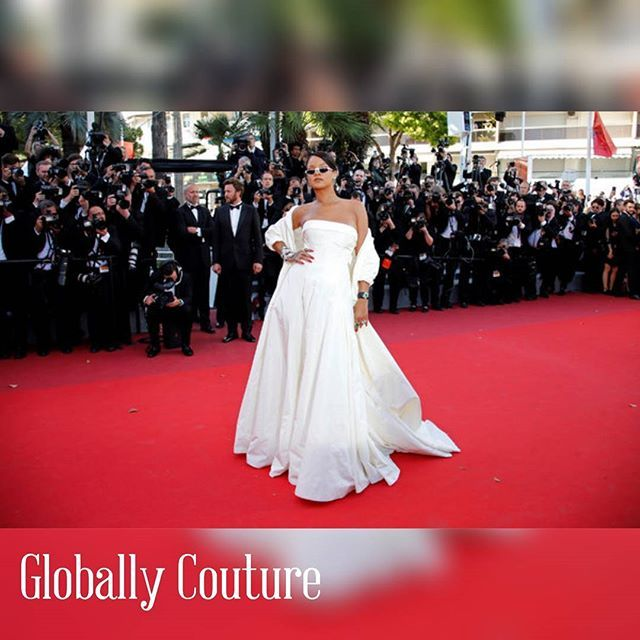 Reposting @globallycouture: Rihanna hits the Cannes Film Festival in @Dior. Thoughts? @BadgalRiri @FestivalDeCannes #Rihanna #CannesFilmFestival #RedCarpet #RedCarpetBeauty #Celebrity #Dior #HighEndFashion #Fashion #FashionDesign #FashionDesigner #Makeup #MUA #OOTD #Fashionista #FashionBlogger #FashionBlogger #Beauty #BeautyBlogger #Beautyful #Gorgeous #CelebrityStyle #InStyle #Style #Stylish #France