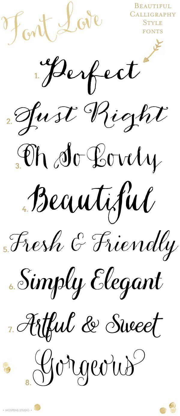 32 best Fonts images on Pinterest