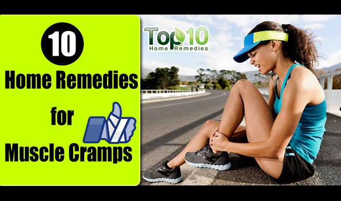 how to get rid of leg cramps naturally