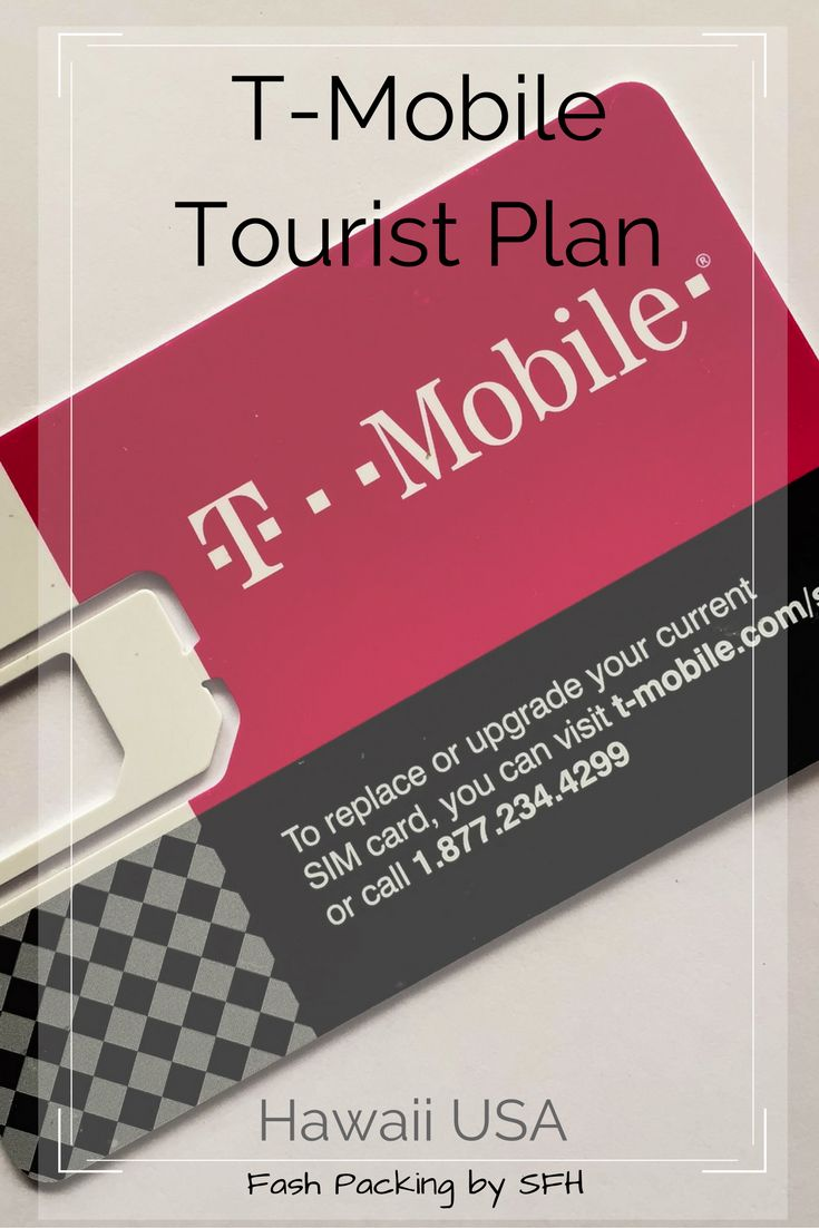 Staying in touch while travelling can be expensive but it doesn't have to be. I used the T-Mobile Tourist Plan and it was the best $30 I spent in Hawaii. Find out why here
