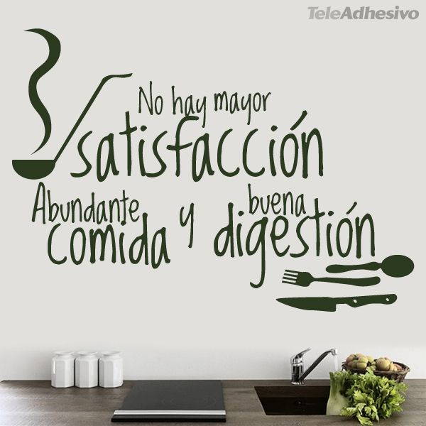35 Very Delicious Food Quotes Every Food Lover Must See: 100+ Ideas To Try About FRASES PARA DECORAR PAREDES