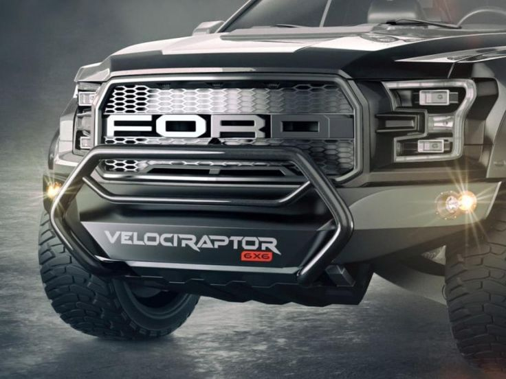 The #Hennessey_VelociRaptor 6x6 has 150 extra horses and 50 percent more wheels than the #2017_Ford F-150 #Raptor. Read more here!