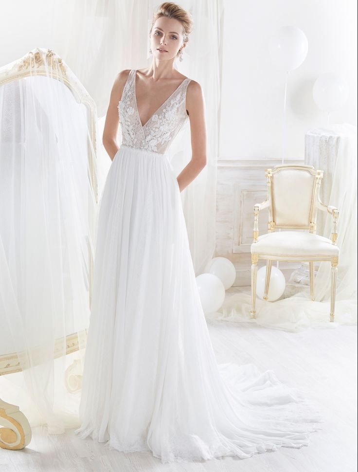 53 besten Beach Wedding Dresses Bilder auf Pinterest | Wedding dress ...