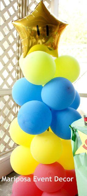 "Photo 14 of 17: MARIO BROS / Birthday ""Mario Bros Sebastian's Bday Bash "" | Catch My Party"