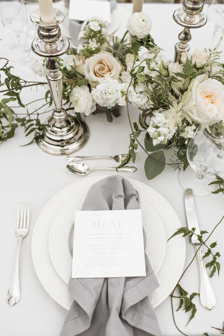 Soft, Romantic Wedding Inspiration | Photography: Ashley Largesse