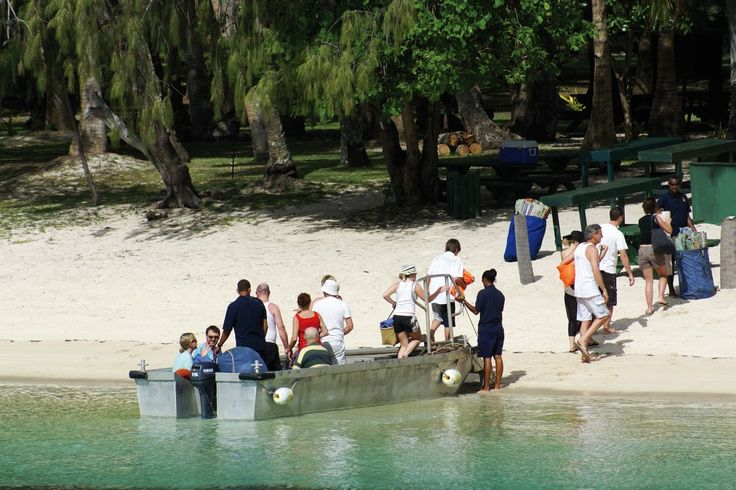 Enjoy lots of beach trips with Blue Lagoon Cruises