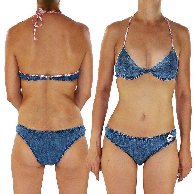 MISS SIXTY Damen Triangel Bikini Set Bikiniset Monokini Badeanzug Jeans Look C01 | Vêtements, accessoires, Femmes: vêtements, Maillots de bain | eBay!
