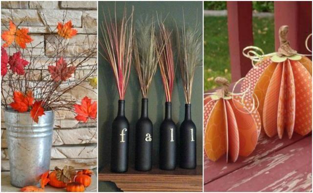 10 kreatywnych rozwiązań do domu na jesień