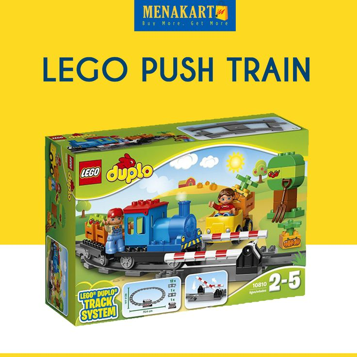 LEGO Push Train #Toys #LEGO #Online #Shopping #Menakart
