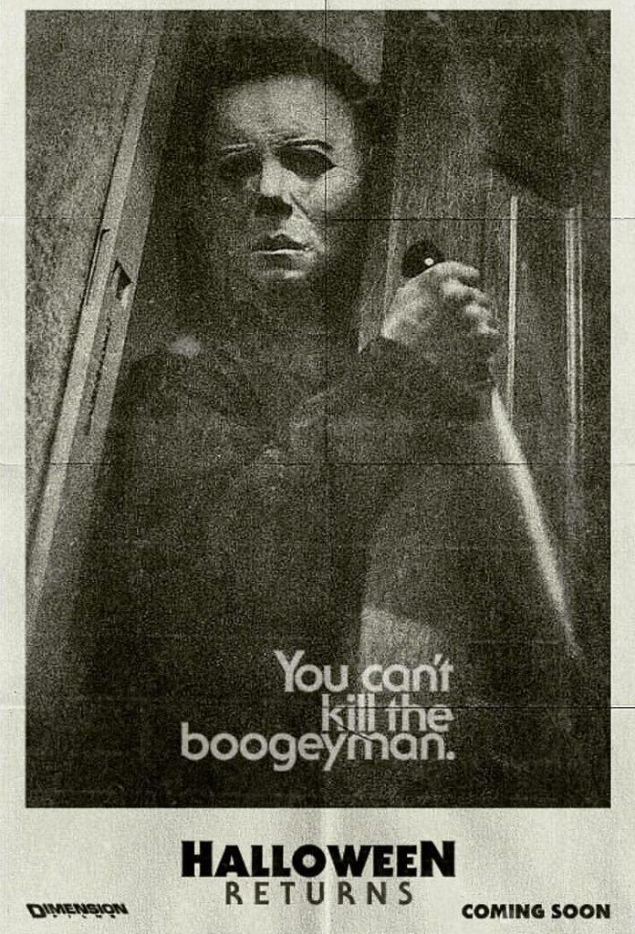 You can't kill the boogey man.                              …