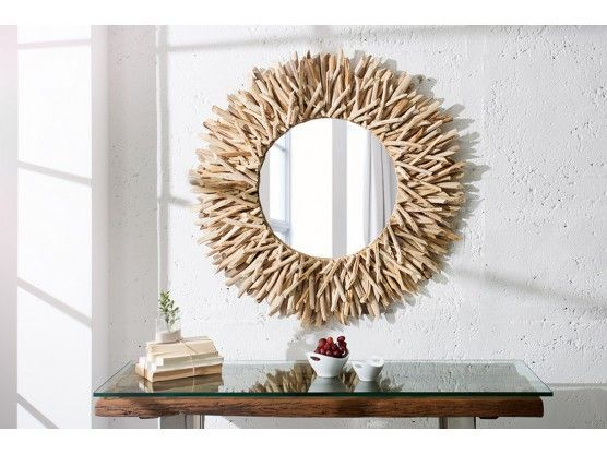 Les 25 meilleures id es de la cat gorie miroirs ronds sur for Miroir rond bois