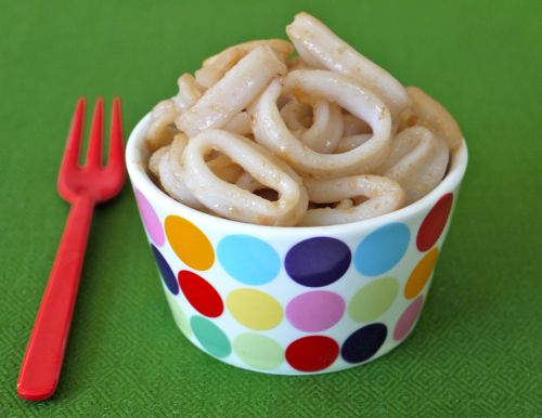 Sauteed calamari rings! Inexpensive, low fat/low carb and packed with protein