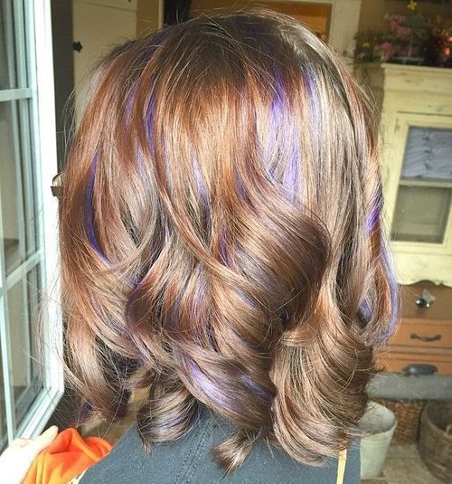The 25 best babylights brown hair ideas on pinterest pelo largo 40 ideas of peek a boo highlights for any hair color light brown hairpurple hairhaircolorshorter pmusecretfo Choice Image