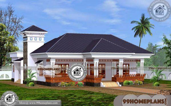 Single Floor House Plans Indian Style 70 Kerala