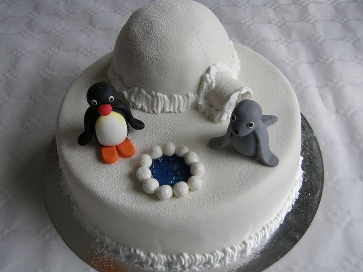 Pingu cake