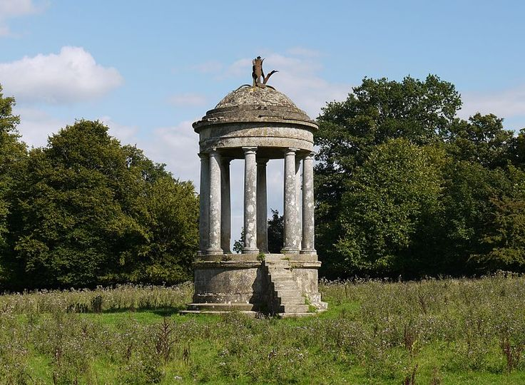 The Beacon: One of the remaining follies at Staunton Country Park originally commissioned by George Thomas Staunton and designed by Lewis Vulliamy