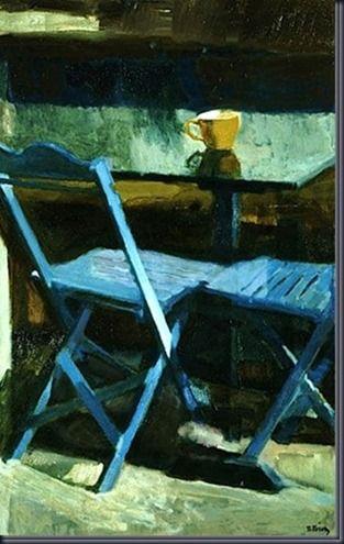 tetsis blue chairs