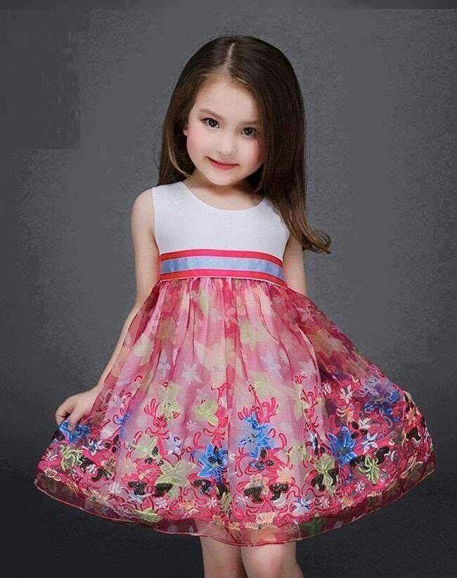 29 best Vestidos de niña images on Pinterest   Party dresses, Flower ...