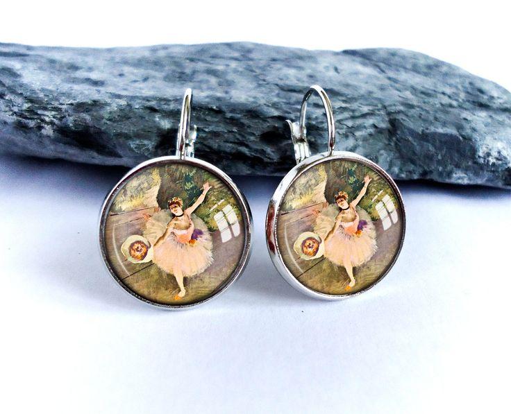 Star of the Ballet dangle earrings picture earrings by BakGuri