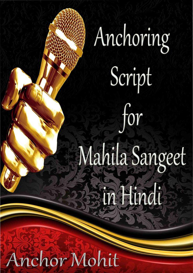 Anchoring Script in Hindi for Mahila Sangeet Script, Hindi