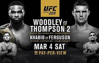 MMA CAGEWORLD : UFC 209 The Fight Card 4th March 2017